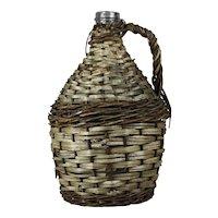 Wicker Wine Bottle-Large