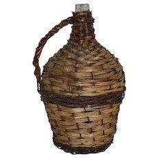 Wicker Demijohn Wine Bottle (Large)