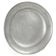 Small Pewter Plate