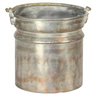 Rustic Copper Pot with Brass Handle
