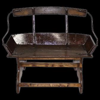 Buckboard Wagon Bench Seat
