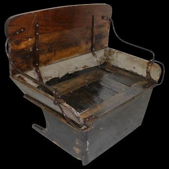 Child's Buckboard Bench Seat