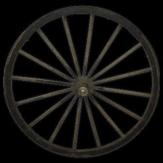 Wood Buggy Wheel