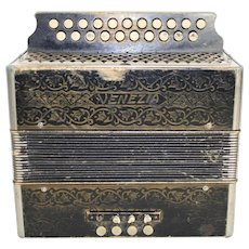 Venezia German Diatonic Accordion