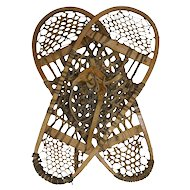 Bear Paw Rawhide Canadian Snowshoes