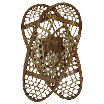 Canadian Bear Paw Snowshoes