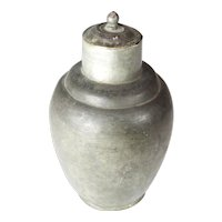 Pewter Chinese pot