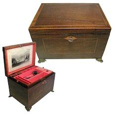 Georgian Sewing Box Circa.1790. English Neo-Classical