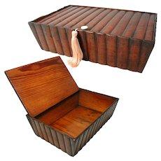 Georgian Pine Box. Beautifully Hand Made. Rare