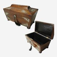 English Regency Casket Box