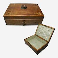 Antique French Jewelry Box Circa 1830