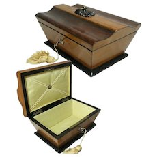 Palais Royal, French, Jewelry Box. Silk Lined