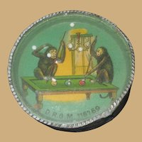 Monkey Pool Players Dexterity Puzzle - German early 1900s