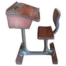 Victorian Miniature Desk Model with Provenance circa 1840