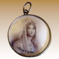 Souvenir Memento Mori of Empress Josephine and Napoleon