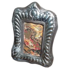 Vintage small silver frame