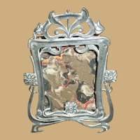 Antique Victorian Tiny French Frame - Dollhouse or Doll