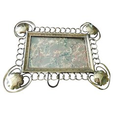 Superb Antique Large Victorian Brass Photograph Frame Circa 1890, Birmingham England