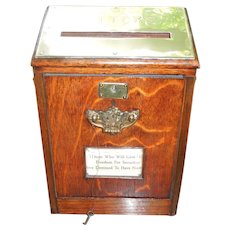 Antique English Country House Post Box