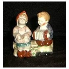 """""""Occupied Japan"""" Figural Salt And Pepper Shakers"""