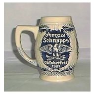 Arrow Schnapps Promotional Stein 1981