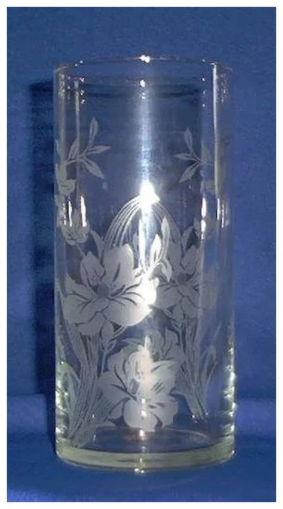 Crystal Cylinder Vase By Pasabahee Of Turkey A Dream Remembered
