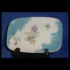 Hand Painted Dresser Tray Signed Helen Fairbanks