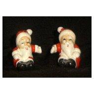 Santa Claus Salt And Pepper Shakers