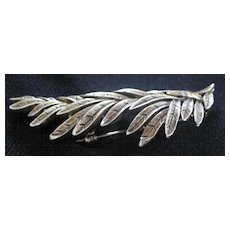 Leaves On A Branch Motif Pin