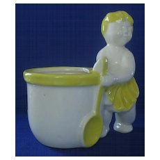 Haeger Pottery Figural Spooner Or Planter