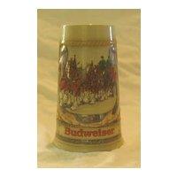 Budweiser Horseshoe Stein From1987