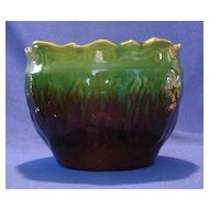 Brush McCoy Poppy Blended Glaze Jardiniere