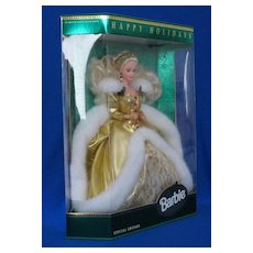 "1994 ""Holiday Barbie"" Seventh Issue In Series"