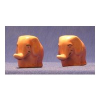 Pink Elephant Salt And Pepper Shakers