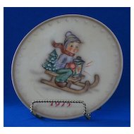 1975 Goebel Annual Hummel Christmas Plate
