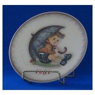 1981 Goebel Annual Hummel Christmas Plate