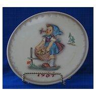 1984 Goebel Annual Hummel Christmas Plate