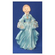 Lady In Blue Figurine