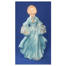 Lady In Blue Figurine