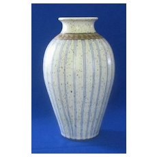 "Studio Pottery Vase Marked ""PANG"""