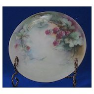 Blackberry Hand Painted Haviland France Plate