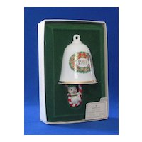 "Hallmark 1981 ""Swingin Bellringer"" Christmas Ornament"
