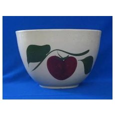 """Watt """"65"""" Apple With Two Leaves Mixing Bowl"""