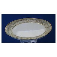 Daisy Decorated Nippon Relish Dish