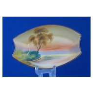 "Noritake ""Tree In The Meadow"" Oval Dish"