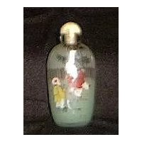 Reverse Painted Japanese Scent Bottle