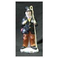 "Coalport Figurine Titled ""Cabby"""