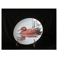 "W. S. George ""Cinnamon Teal"" Collector Plate"