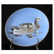"W. S. George Collector Plate Titled ""Widgeons"""