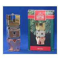"Hallmark Keepsake Ornament Titled, ""Gift Of Joy"""